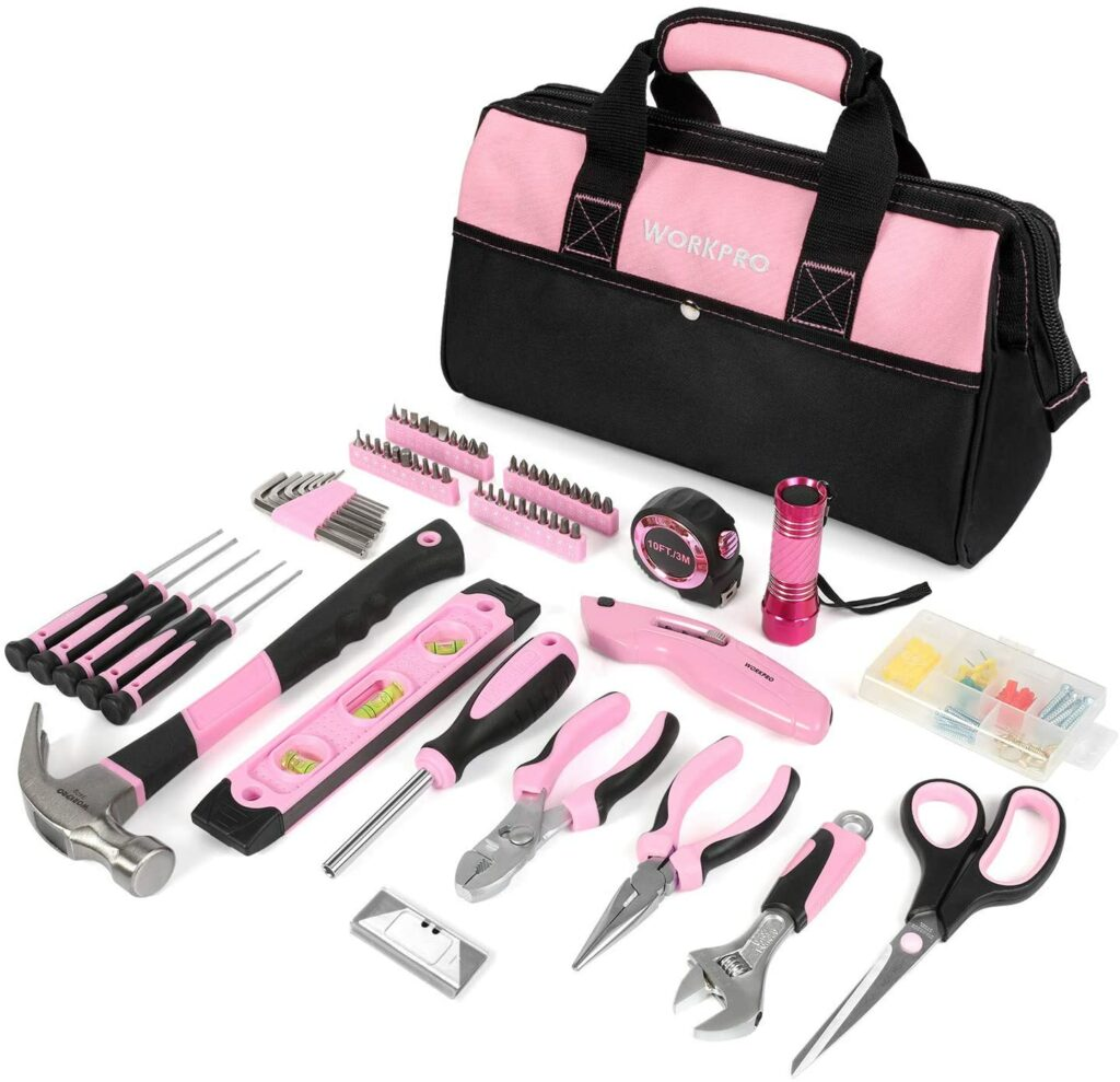 Werkzeugkoffer für Frauen | Die besten Werkzeugkoffer für